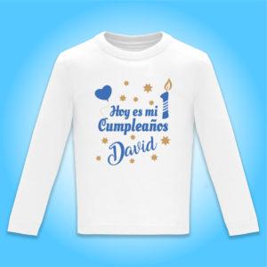 Camiseta personalizada de cumpleaños «Hoy es mi cumpleaños»