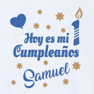 """Camiseta personalizada de cumpleaños """"Hoy es mi cumpleaños"""""""