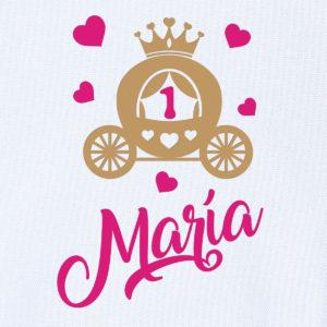 """Camiseta personalizada de cumpleaños """"Princesa"""""""