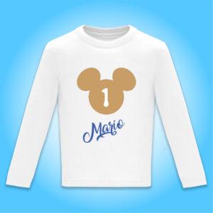 """Camiseta personalizada de cumpleaños """"Día de Cine"""""""