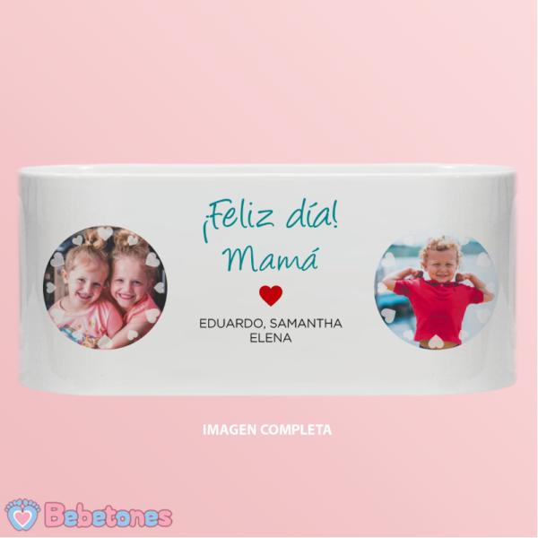 """Taza personalizada """"Amor de Hijos para Mamá"""" - imagen completa"""