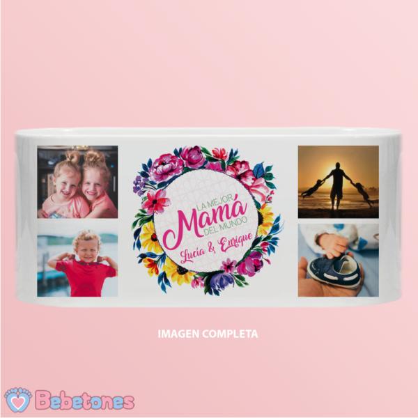 "Taza personalizada ""La mejor mama del mundo"" - imagen completa"
