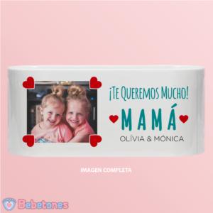 """Taza personalizada  """"Una foto con amor para mamá"""""""