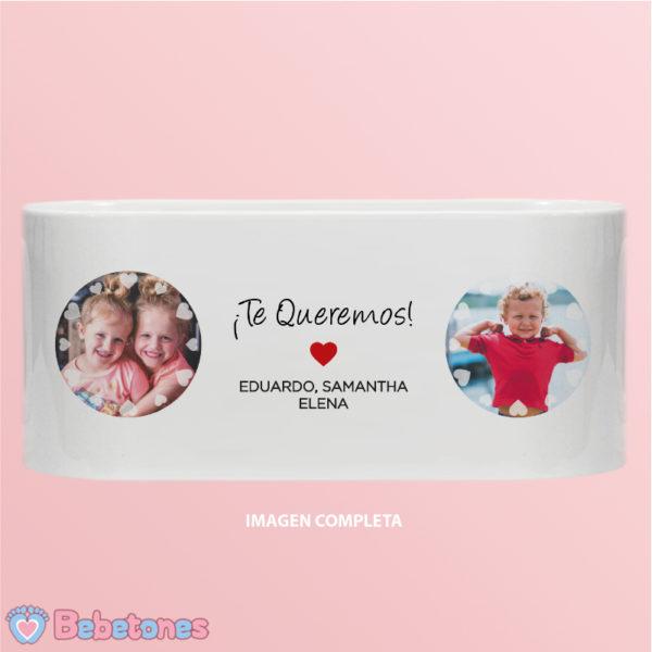"""Taza personalizada """"Amor de Hijos"""" - imagen completa"""